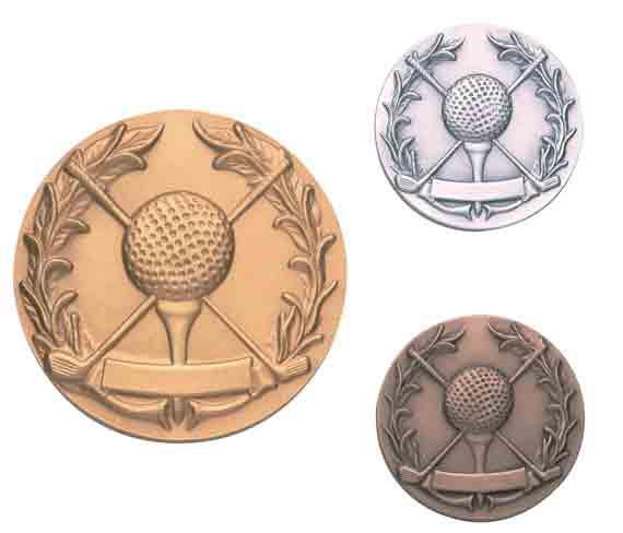 Médaille Balle de golf 20.04