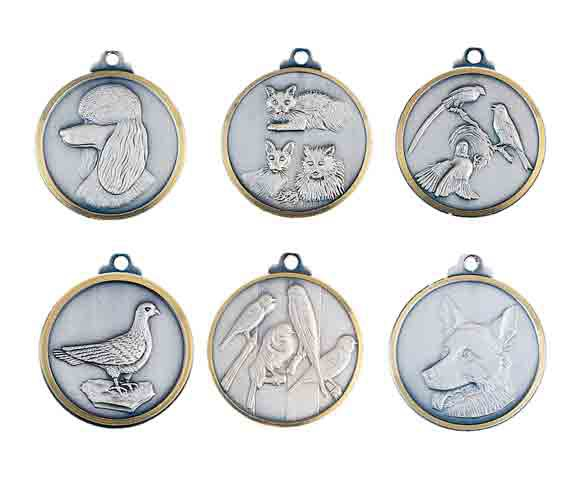 médaille 32mm animaux médaille 32mm animals