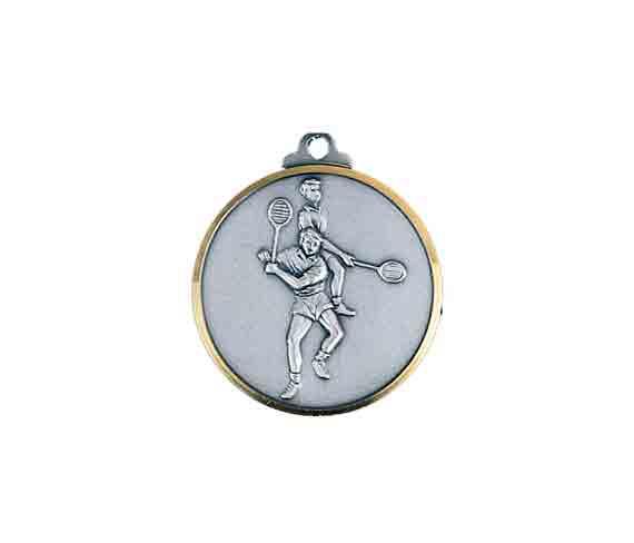 médaille 32mm badmington medal 32mm badmington