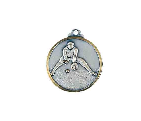 médaille 32mm baseball medal 32mm baseball