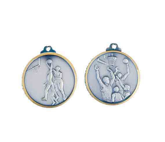 médaille 32mm basket-ball medal 32mm basket-ball