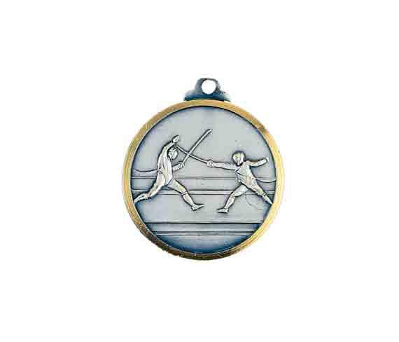 médaille 32mm escrime medal 32mm fencing