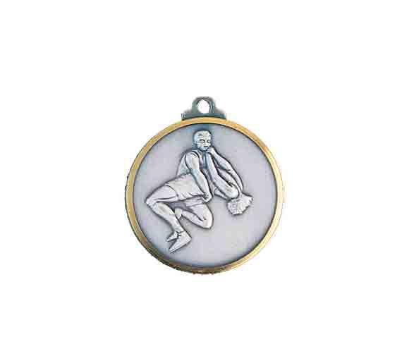 médaille 32mm lutte medal 32mm wrestling