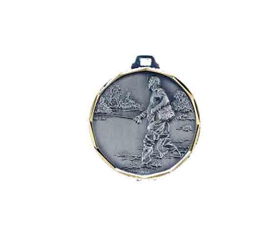 médaille 32mm pêche medal 32mm fishing