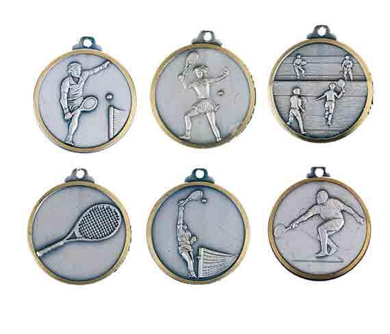médaille 32mm tennis medal 32mm tennis