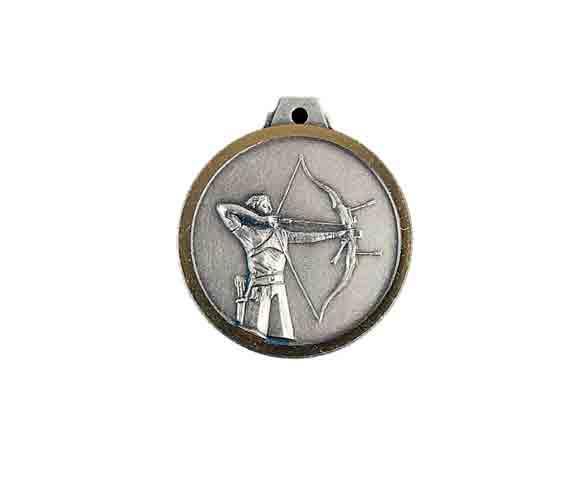 médaille 32mm tir à l'arc medal 32mm archery