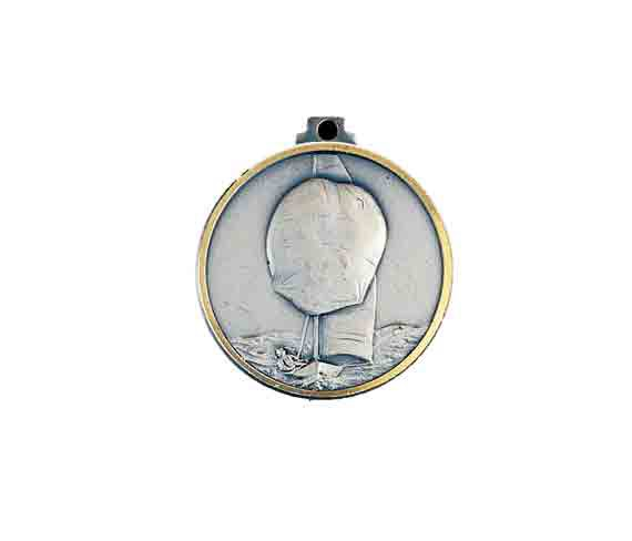médaille 32mm voile medal 32mm sailing