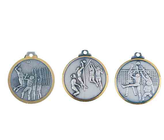 médaille 32mm volley-ball medal 32mm volley-ball