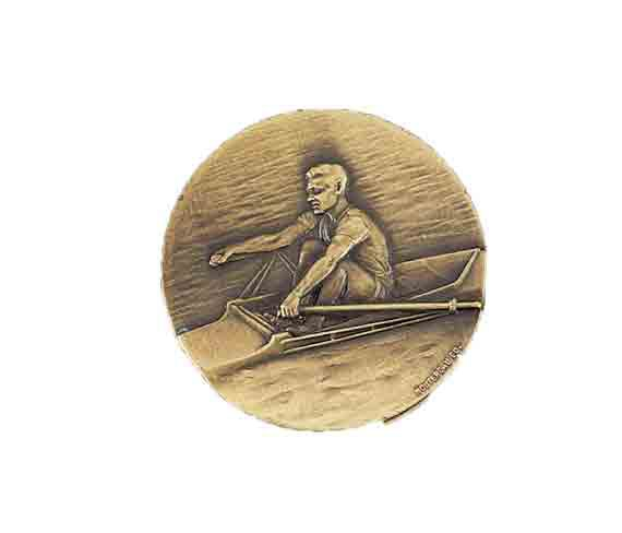 médaille 50mm aviron medal 50mm rowing