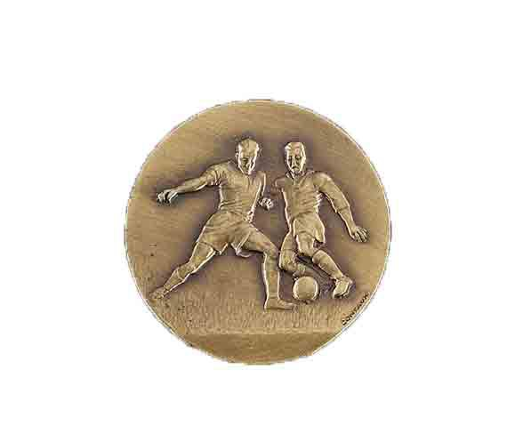 médaille 50mm football medal 50mm football