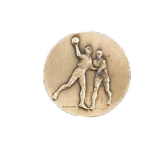 médaille 50mm handball medal 50mm handball