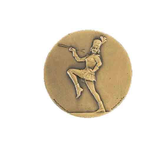 médaille 50mm majorette medal 50mm majorette