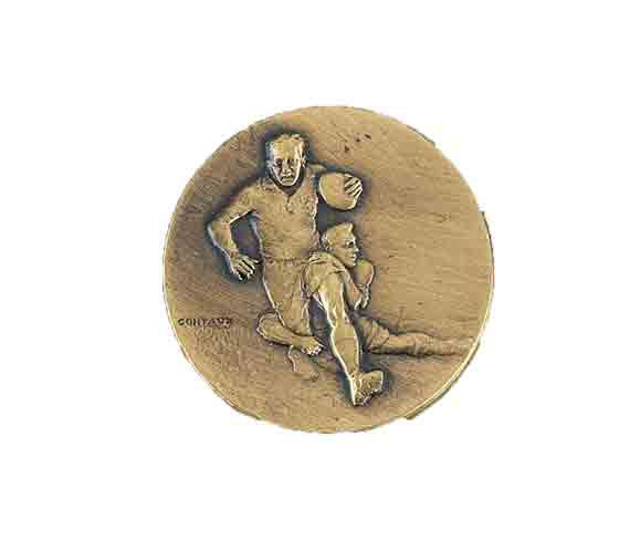 médaille 50mm rugby medal 50mm rugby
