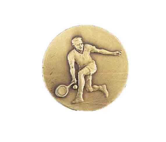 médaille 50mm tennis medal 50mm tennis