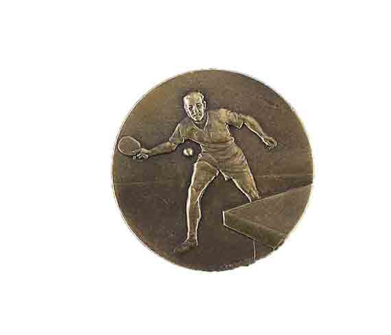 médaille 50mm tennis de table medal 50mm table tennis
