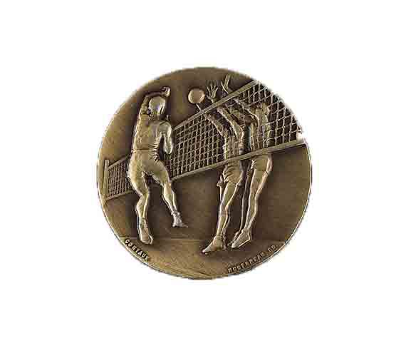 médaille 50mm volley-ball medal 50mm volley-ball